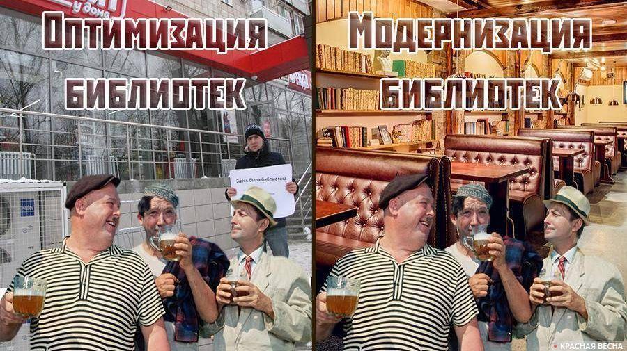 Оптимизация и модернизация библиотек Галина Смирнова © ИА Красная Весна