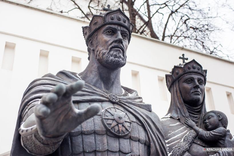 Москва. Памятник Дмитрию Донскому [(c) ИА Красная весна]