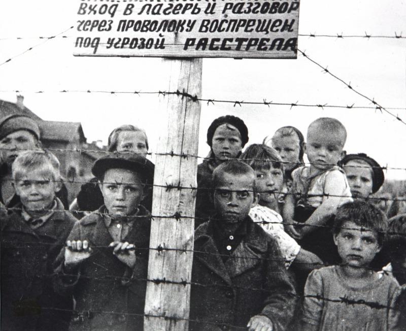 Финский концентрационный лагерь в Карелии [cc]