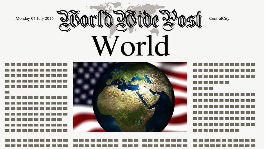 газета, новости, сша geralt, pixabay, cc0