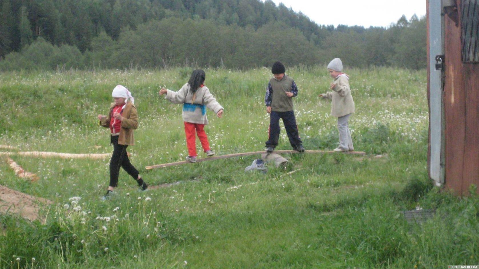Дети в деревне Ольга Перегуд © ИА Красная Весна