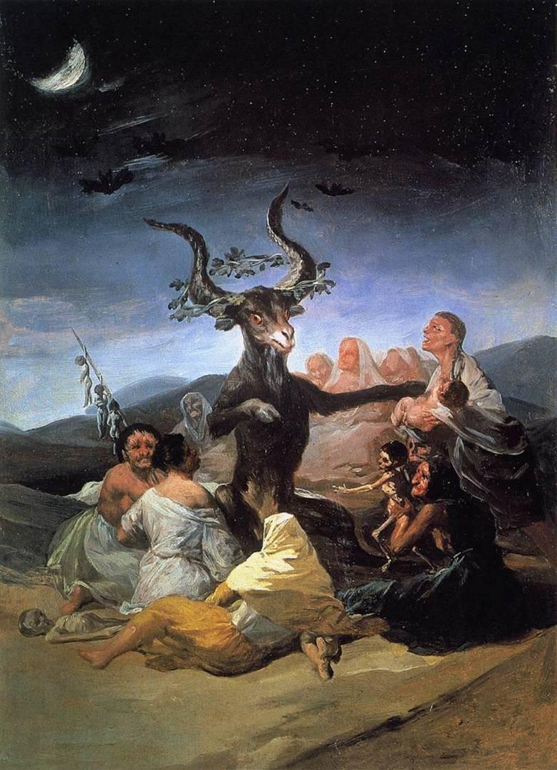 Франсиско де Гойя. Шабаш ведьм. 1789