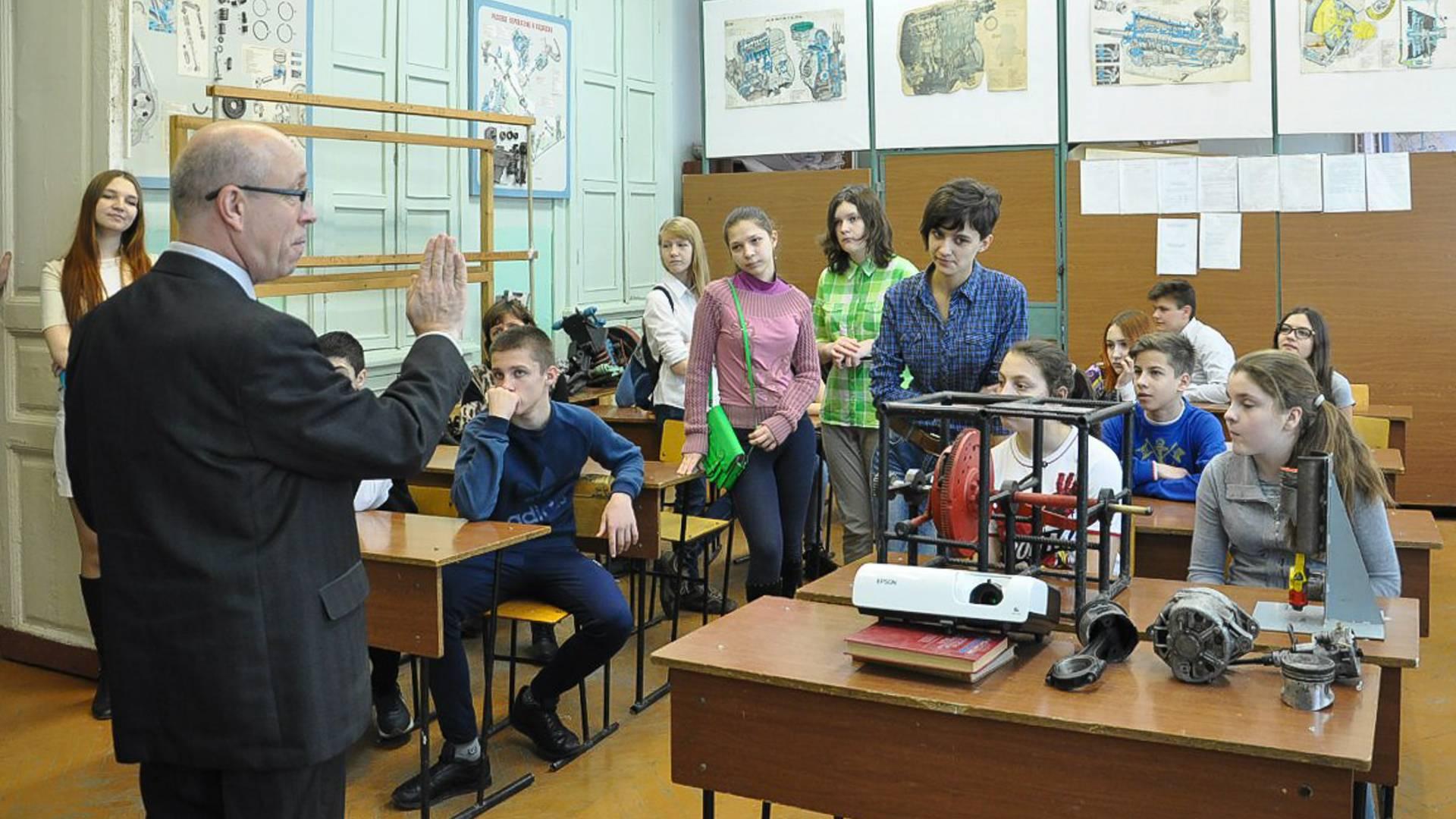 Занятия в Таганрогском металлургическом техникуме © ТМТ
