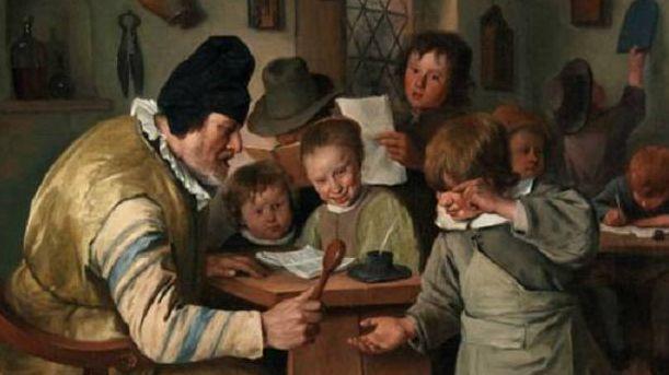 Ян Стен. Школьный учитель. 1663-1665