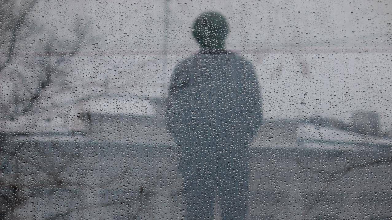 Вид на памятник Солженицину через пуленепробиваемое стекло. Олег Константинов © ИА Красная Весна