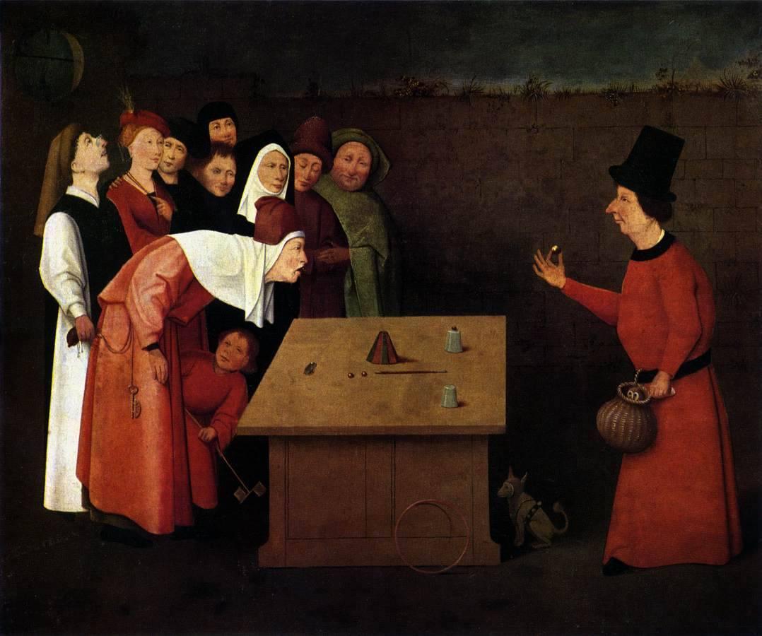 Иероним Босх. Фокусник. Около 1475-1502 гг.