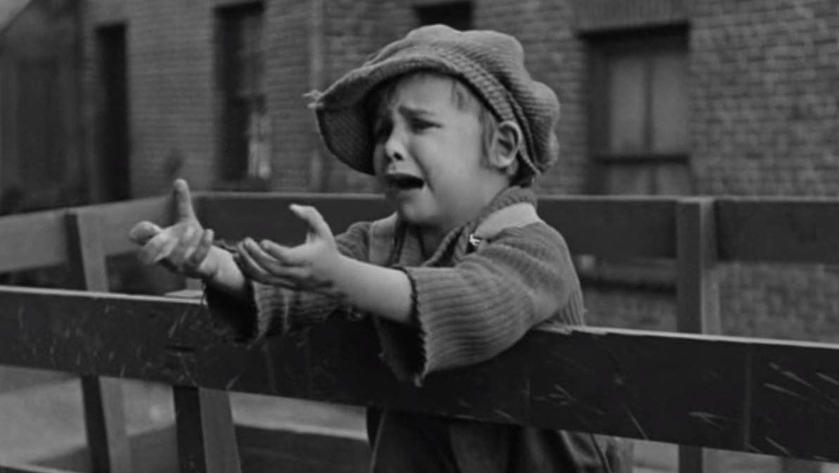 Разлука Цитата из х∕ф «Малыш». Реж. Чарли Чаплин. 1922. США