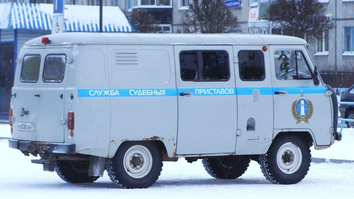 Автомобиль службы судебных приставов Georg Pik (cc)