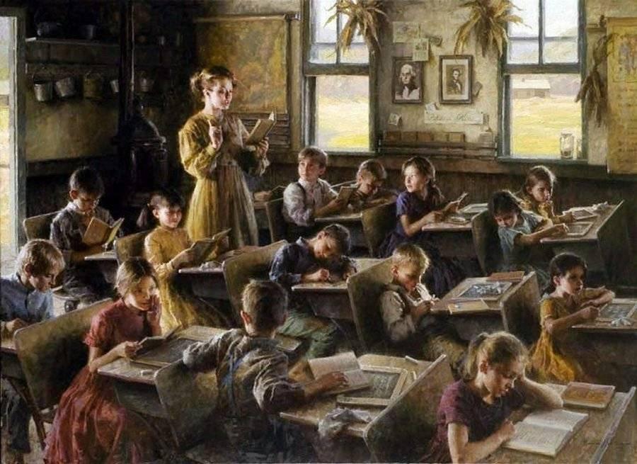 Морган Вестлинг. Школы страны. 1879г.