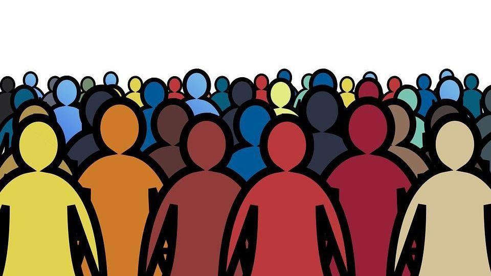 Толпа geralt, pixabay, cc0