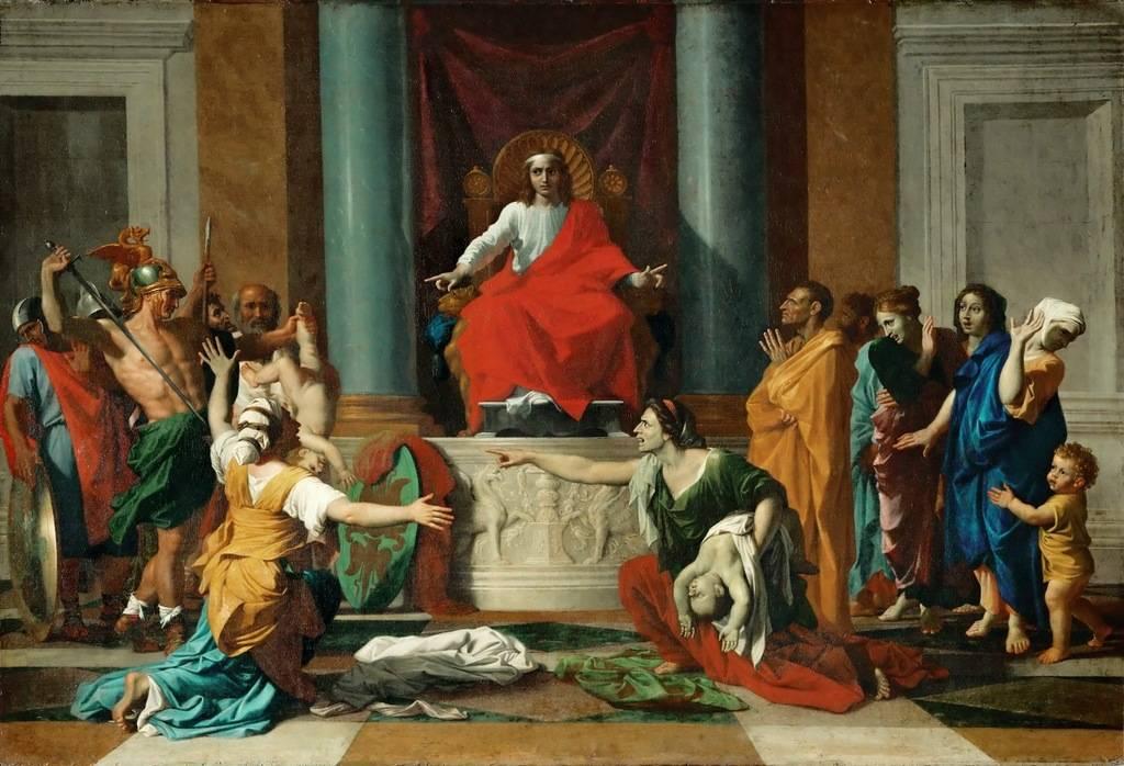 Суд царя Соломона Николя Пуссен,1649