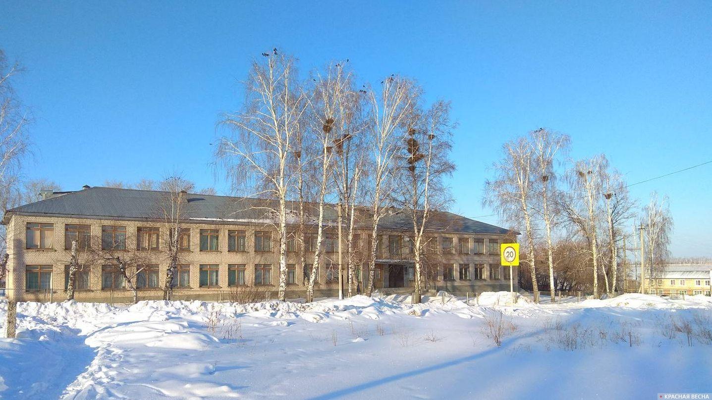 Сельская школа. Зима. Павел Редин © ИА Красная весна