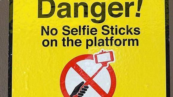 Знак запрета селфи