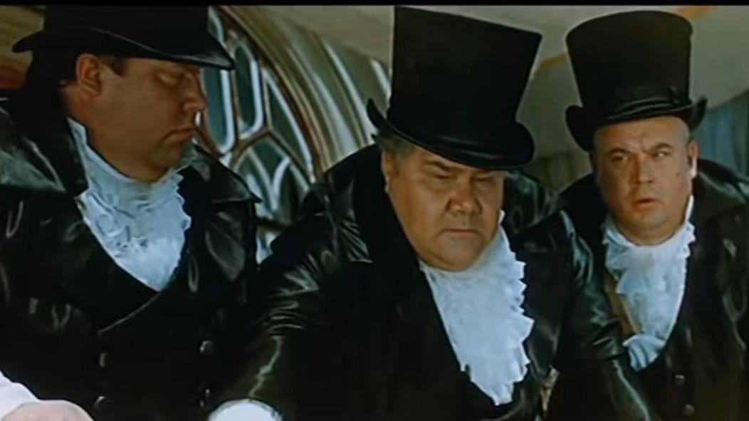 Кадр из фильма «Три толстяка» 1966 года
