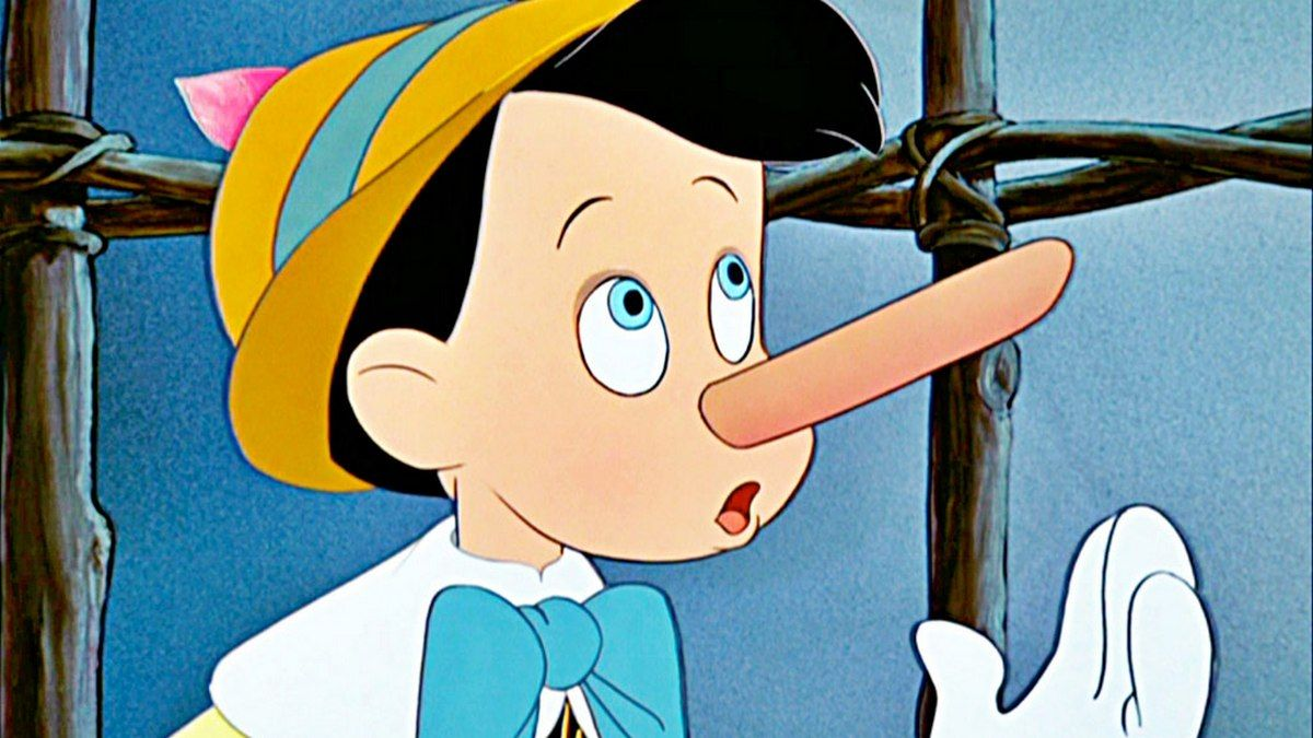 "Цитата из м/ф ""Пиноккио"""