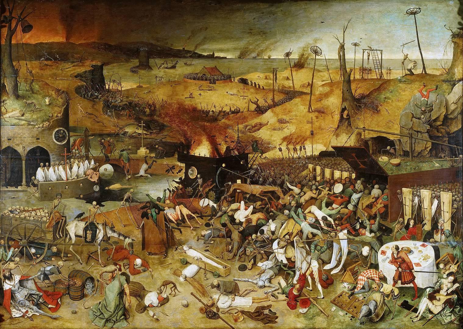 Питер Брейгель Старший. Триумф смерти.1562г