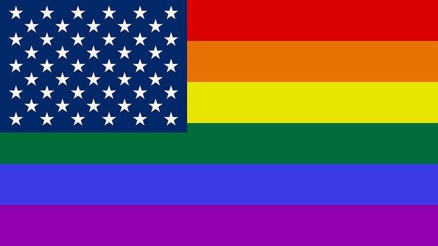 Радужный флаг США janeb13, pixabay, cc0