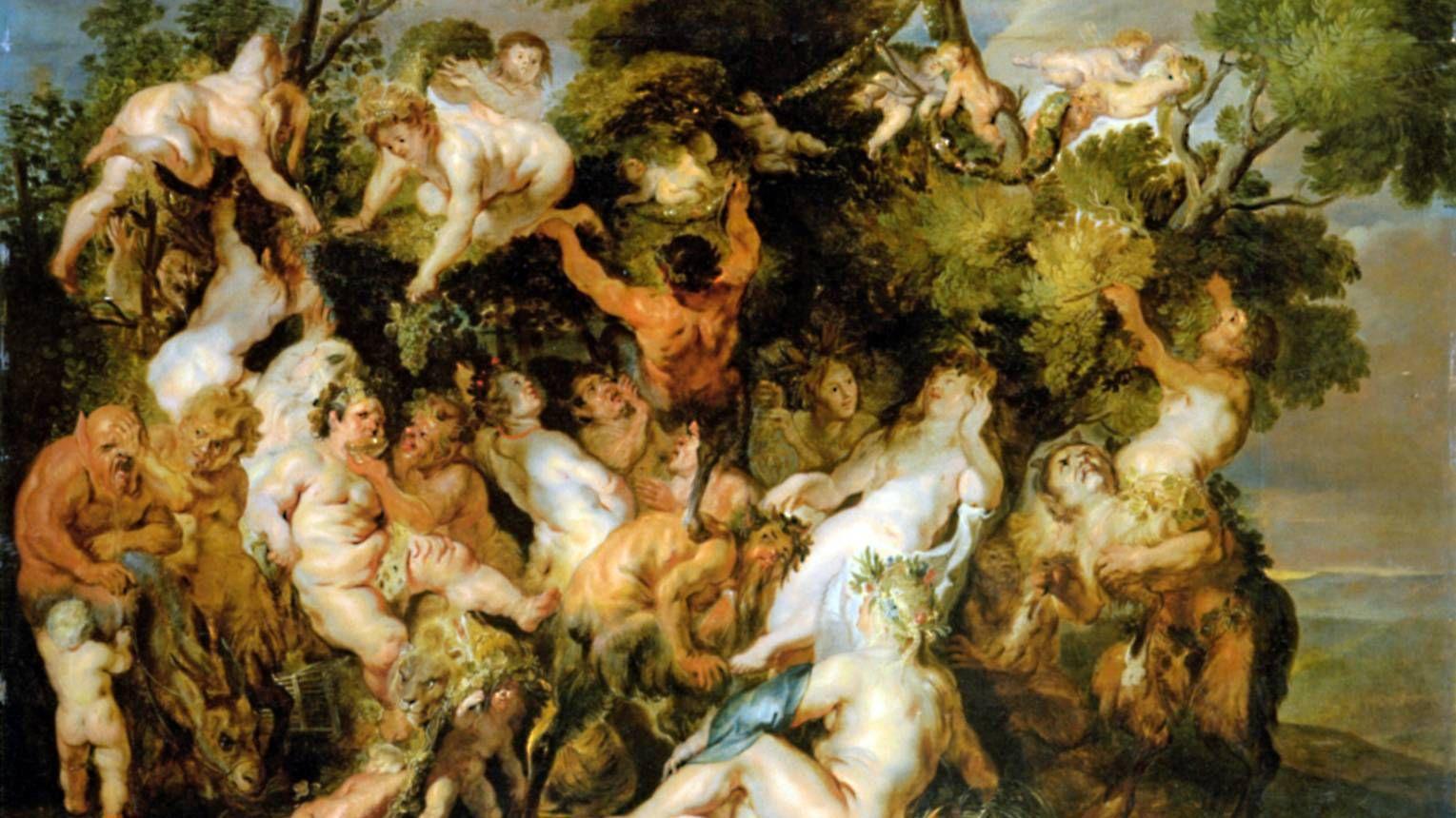 Йорданс Якоб. Вакханалия. 17 век