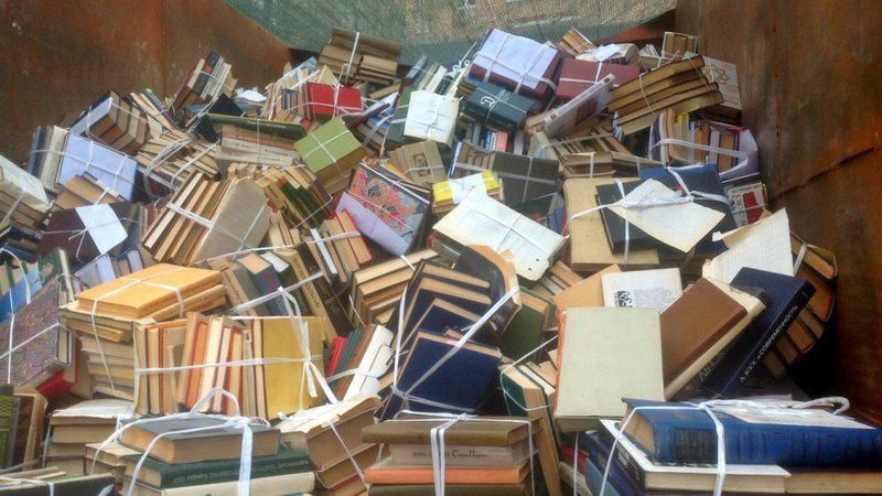 Выброшенные книги