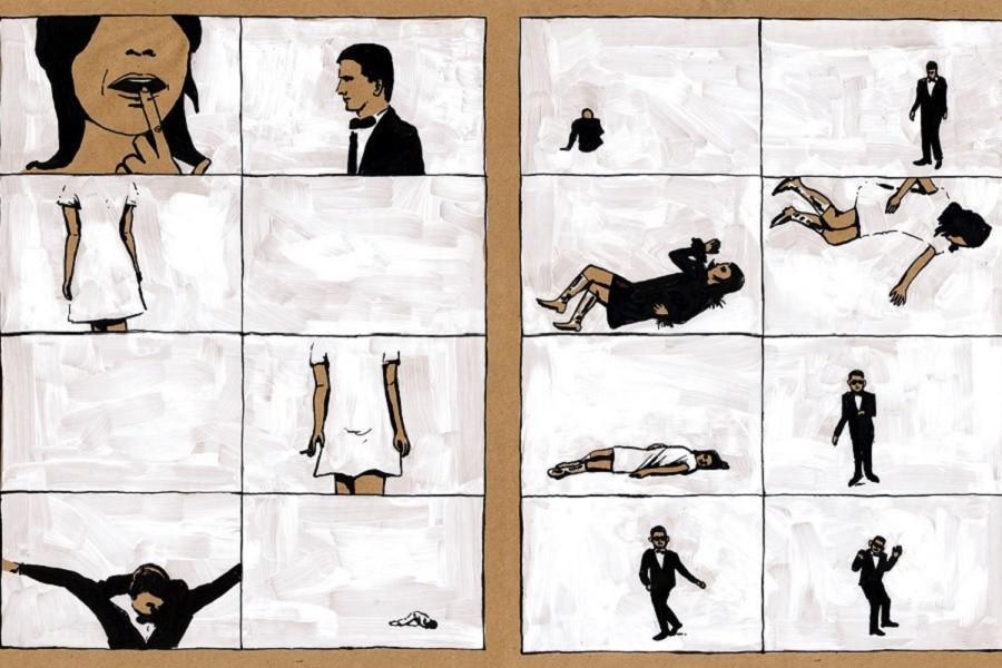 Л.Николс. Иллюстрация по мотивам фильма «Совершенный человек»