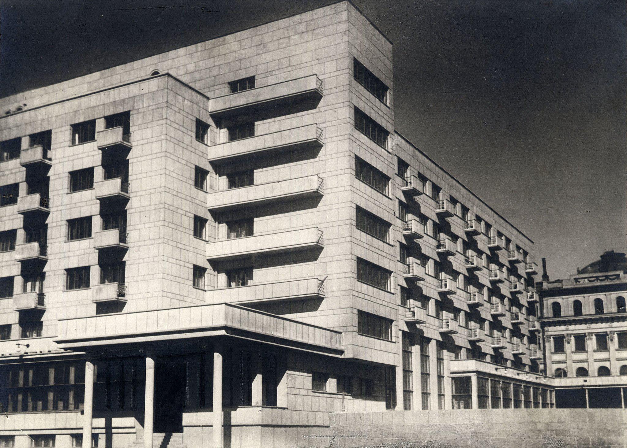 Ленинград. Дом-коммуна Общества политкаторжан. 1933