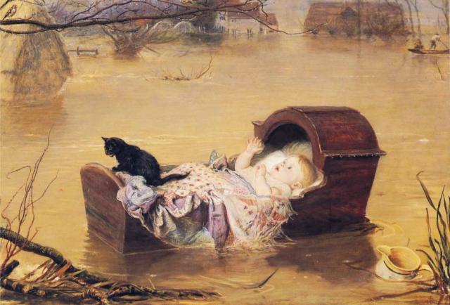 Джон Эверетт Милле. Без матери и без отца. 1870