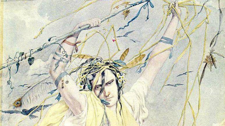 Ричард Дадд. Безумная Джейн (фрагмент). XIX век