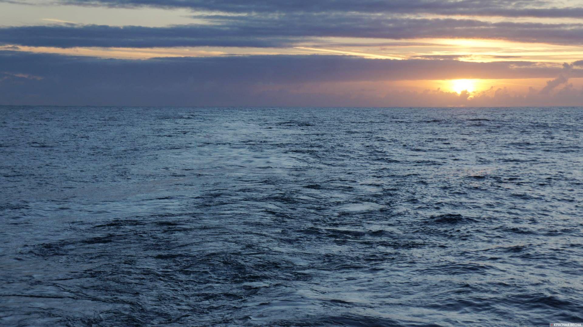 Вечер на Северном море Иван Соболев © ИА Красная Весна