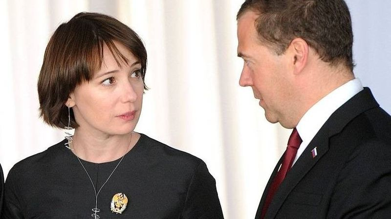 Чулпан Хаматова и Дмитрий Медведев