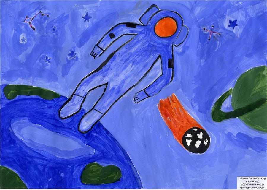 Картинки космос для 8 9 лет