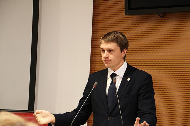 Константин Чепрасов, член РВС