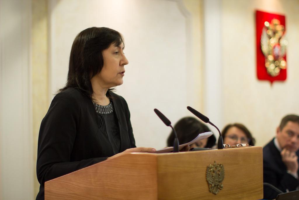 Виноградова Людмила Николаевна. Член РВС, Общественной палаты Российской Федерации
