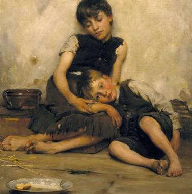 Томас Бенджамин Кеннингтон. Сироты. 1885