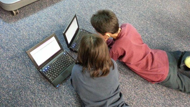 Дети и компьютерpixabay, CC0